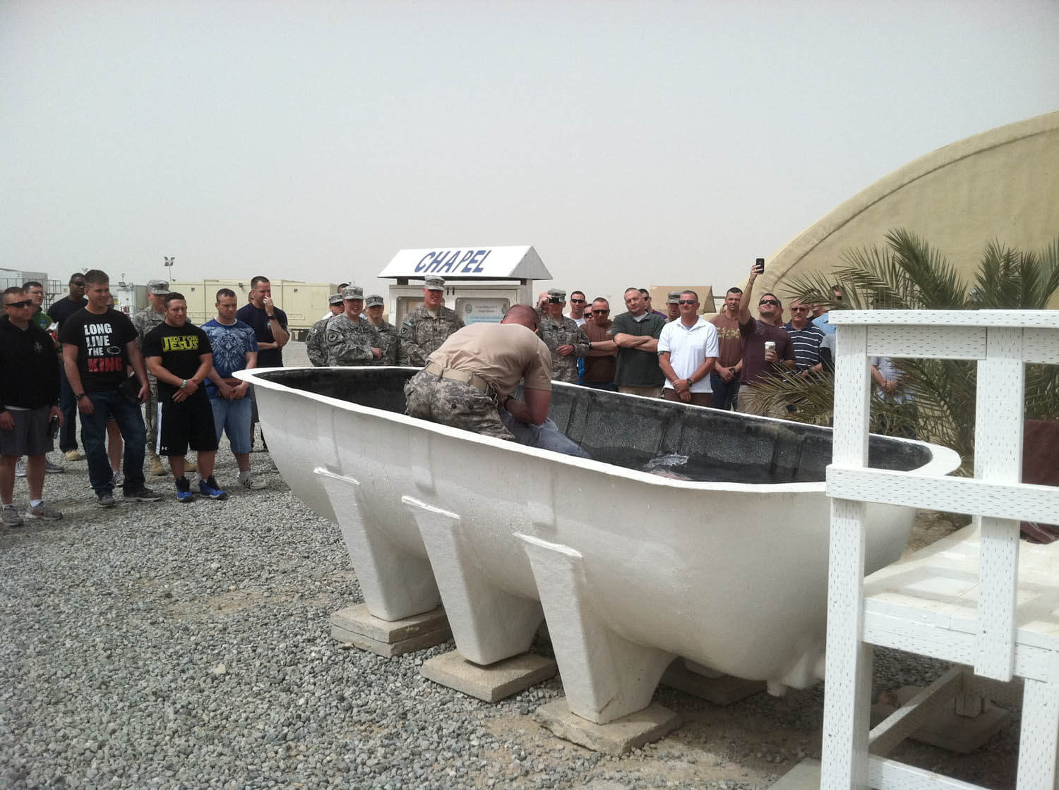 baptism in Kuwait